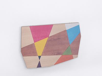 tavolo da parete : Tavolo da parete intarsiato.